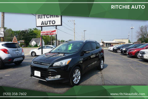 2014 Ford Escape for sale at Ritchie Auto in Appleton WI