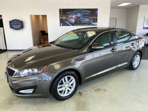 2012 Kia Optima for sale at Used Car Outlet in Bloomington IL