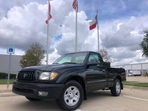 2004 Toyota Tacoma for sale at TWIN CITY MOTORS in Houston TX