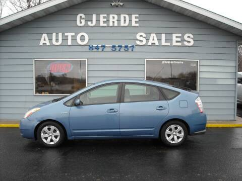 2009 Toyota Prius for sale at GJERDE AUTO SALES in Detroit Lakes MN