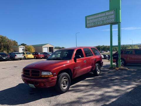 1999 Dodge Durango for sale at Independent Auto in Belle Fourche SD