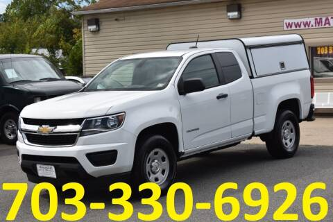 2016 Chevrolet Colorado for sale at MANASSAS AUTO TRUCK in Manassas VA