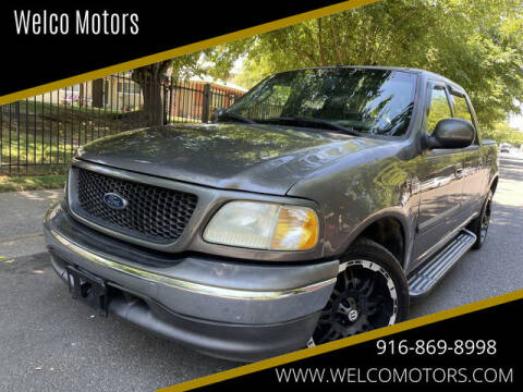 2003 Ford F-150 for sale at Welco Motors in Rancho Cordova CA