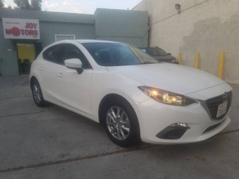 2016 Mazda Mazda3 Hatchback for sale at Joy Motors in Los Angeles CA