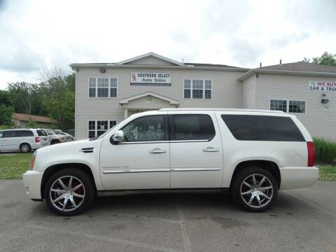 2011 Cadillac Escalade ESV for sale at SOUTHERN SELECT AUTO SALES in Medina OH