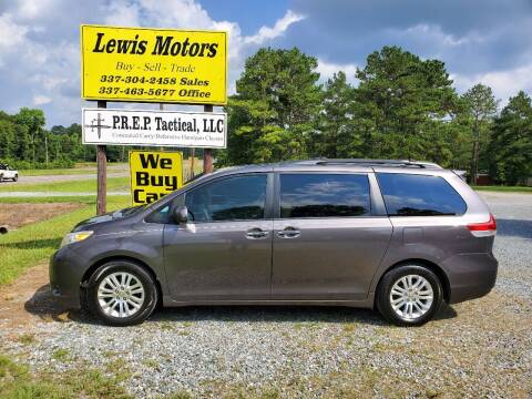 2012 Toyota Sienna for sale at Lewis Motors LLC in Deridder LA