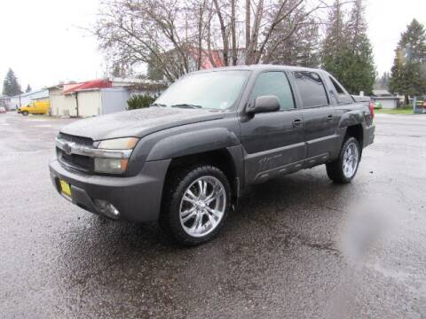 2003 Chevrolet Avalanche for sale at Triple C Auto Brokers in Washougal WA