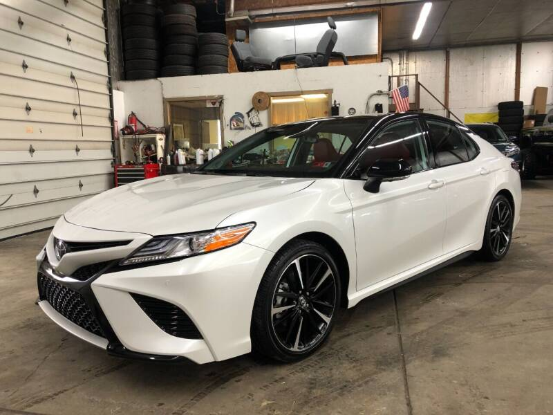 2020 Toyota Camry for sale at T James Motorsports in Gibsonia PA