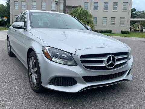 2016 Mercedes-Benz C-Class for sale at Consumer Auto Credit in Tampa FL
