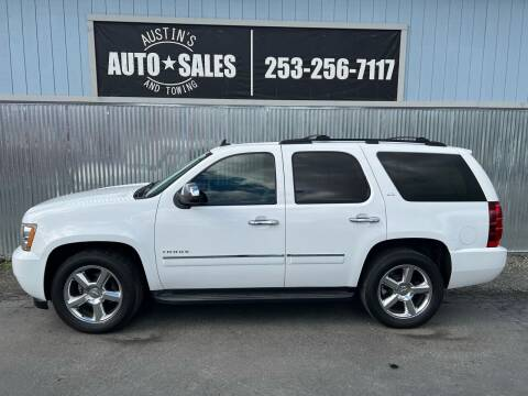 2011 Chevrolet Tahoe for sale at Austin's Auto Sales in Edgewood WA
