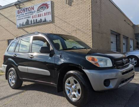 2004 Toyota RAV4 for sale at Boston Auto World in Quincy MA
