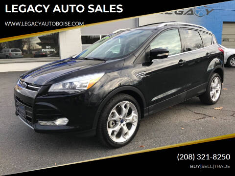 2013 Ford Escape for sale at LEGACY AUTO SALES in Boise ID