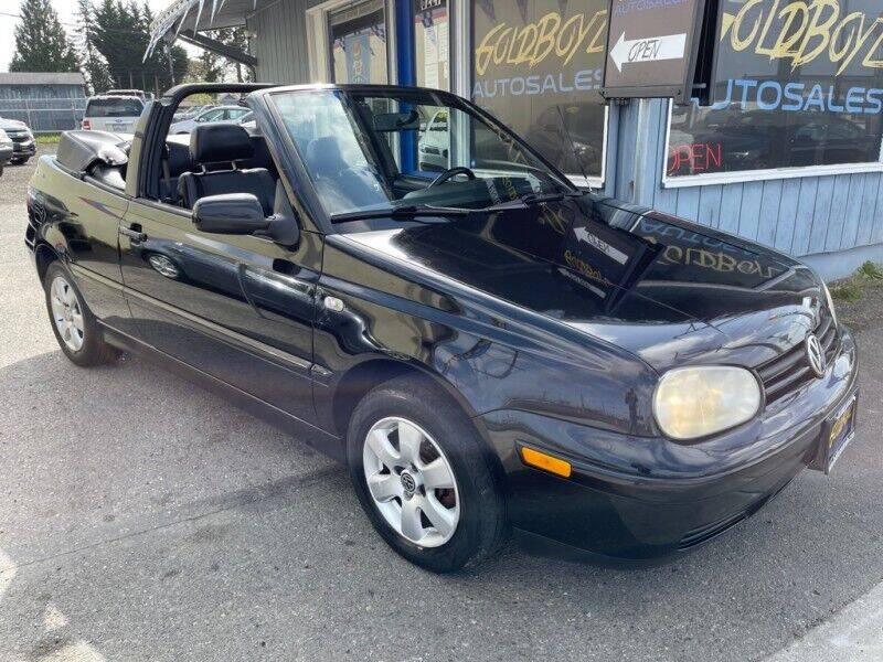 2002 Volkswagen Cabrio for sale in Tacoma, WA