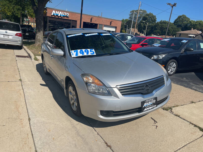 2008 Nissan Altima for sale at AM AUTO SALES LLC in Milwaukee WI