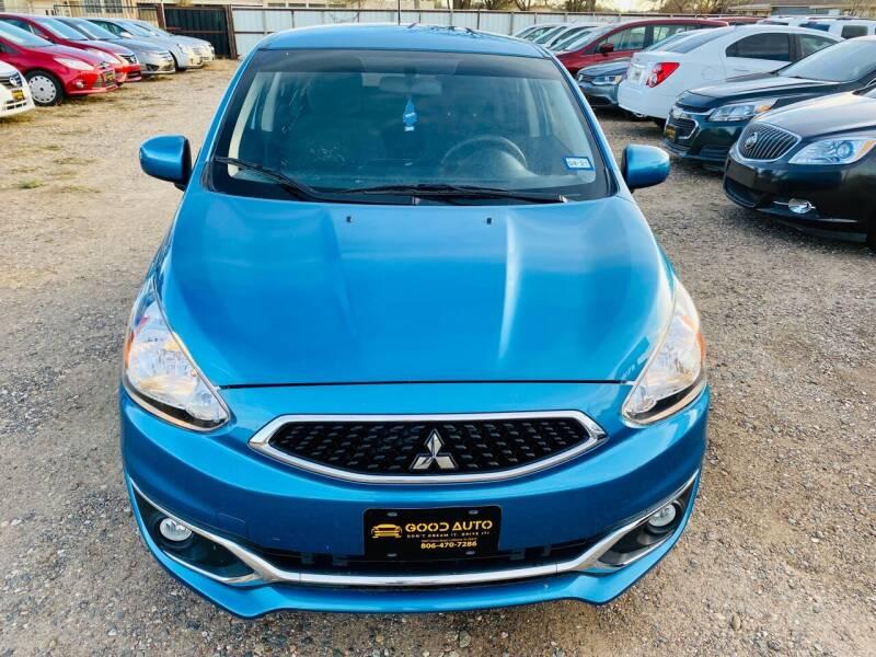 2018 Mitsubishi Mirage for sale at Good Auto Company LLC in Lubbock TX