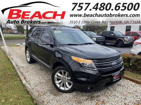 2014 Ford Explorer for sale at Beach Auto Brokers in Norfolk VA