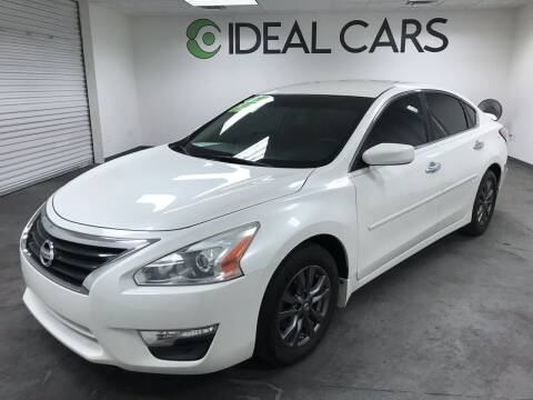 2015 Nissan Altima for sale at Ideal Cars Broadway in Mesa AZ