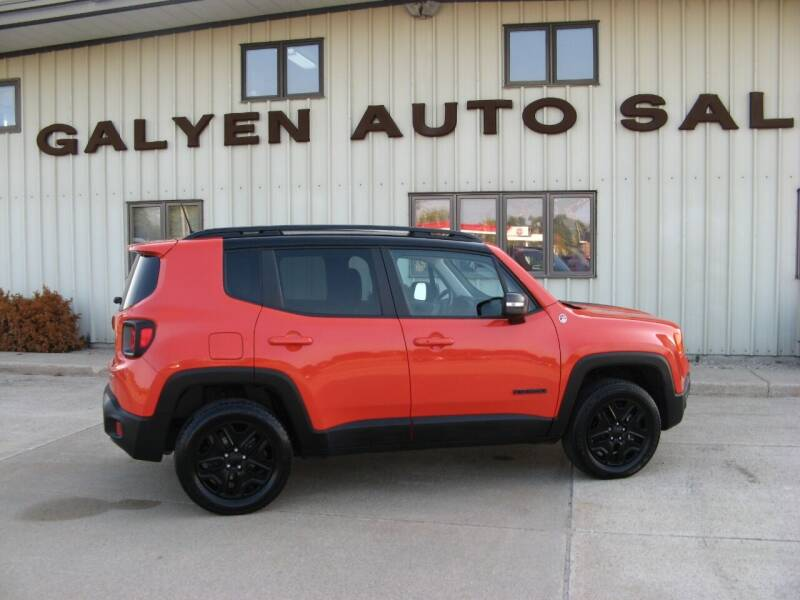 2018 Jeep Renegade for sale at Galyen Auto Sales Inc. in Atkinson NE