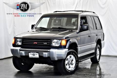 1997 Mitsubishi Montero for sale at ZONE MOTORS in Addison IL