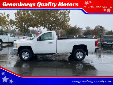 2009 Chevrolet Silverado 2500HD for sale at Greenbergs Quality Motors in Napa CA