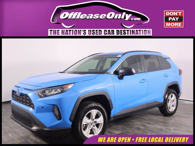 2019 Toyota RAV4 Hybrid for sale in North Lauderdale, FL