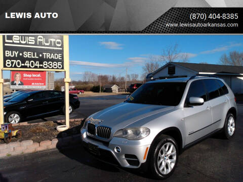 2012 BMW X5 for sale at LEWIS AUTO in Mountain Home AR