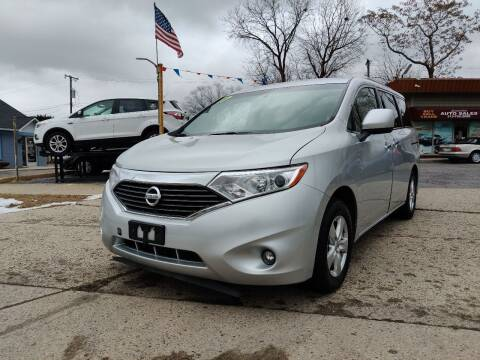 2017 Nissan Quest for sale at Lamarina Auto Sales in Dearborn Heights MI