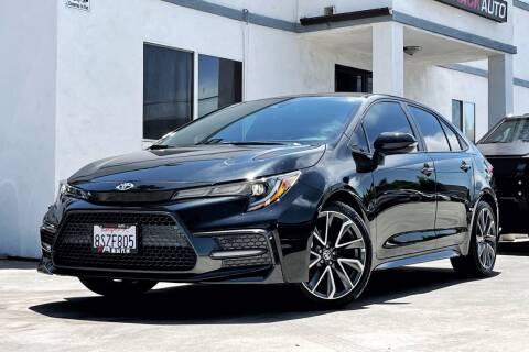 2021 Toyota Corolla for sale at Fastrack Auto Inc in Rosemead CA