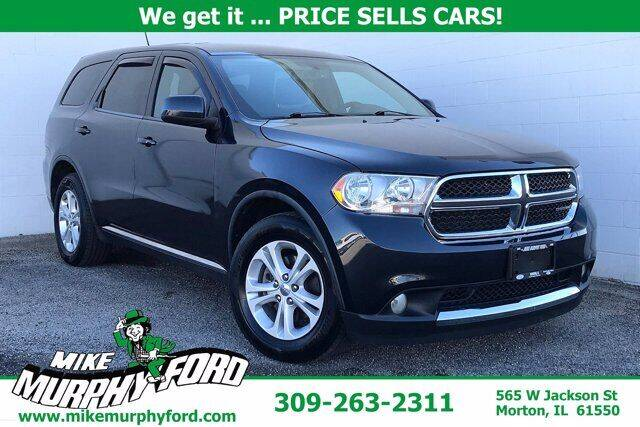 2012 Dodge Durango for sale at Mike Murphy Ford in Morton IL