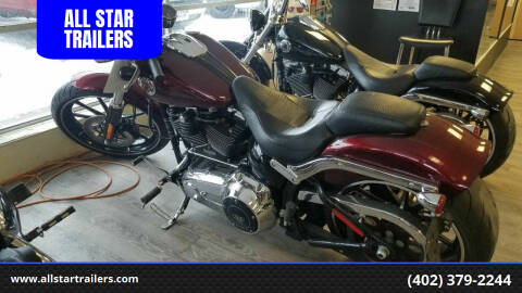 2015 Harley-Davidson FXSB BREAKOUT for sale at ALL STAR TRAILERS in Norfolk NE