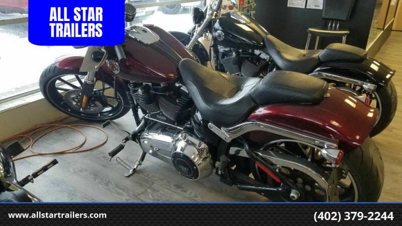 2015 Harley-Davidson FXSB BREAKOUT for sale at ALL STAR TRAILERS in Norfolk NE