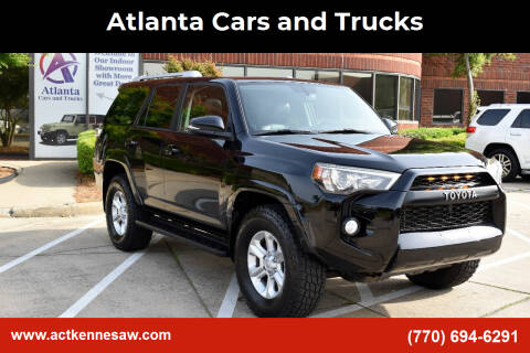 2014 Toyota 4Runner for sale at Atlanta Cars and Trucks in Kennesaw GA
