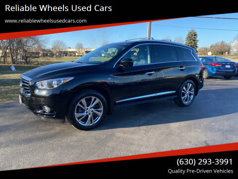 2014 Infiniti QX60 for sale at Reliable Wheels Used Cars in West Chicago IL