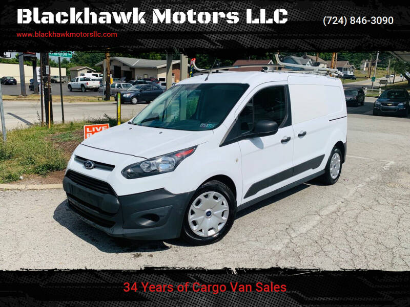 2015 Ford Transit Connect Cargo for sale at Blackhawk Motors LLC in Beaver Falls PA