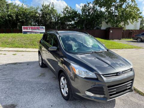 2016 Ford Escape for sale at Detroit Cars and Trucks in Orlando FL
