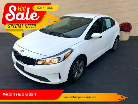 2018 Kia Forte for sale at Monterrey Auto Brokers in Decatur GA