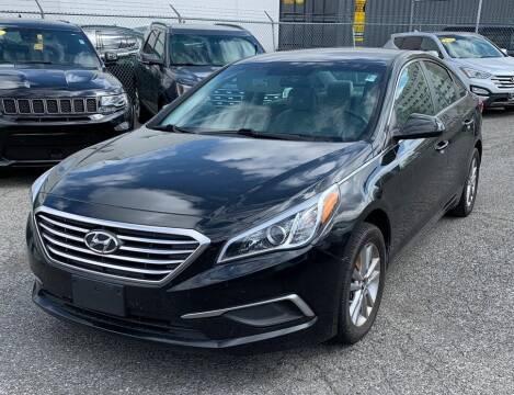 2017 Hyundai Sonata for sale at JOANKA AUTO SALES in Newark NJ
