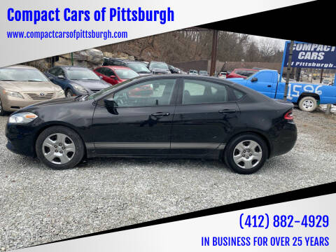 2013 Dodge Dart for sale at Compact Cars of Pittsburgh in Pittsburgh PA