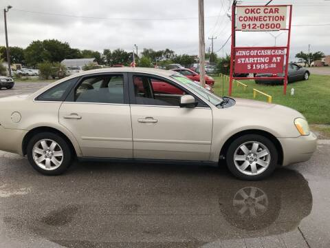 2005 Mercury Montego for sale at OKC CAR CONNECTION in Oklahoma City OK