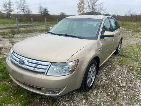 2008 Ford Taurus for sale at HEDGES USED CARS in Carleton MI