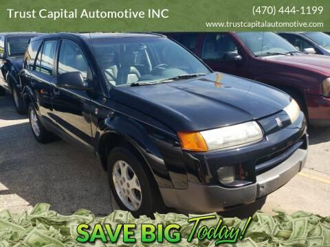 2003 Saturn Vue for sale at Trust Capital Automotive Inc. in Covington GA