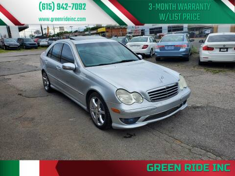 2007 Mercedes-Benz C-Class for sale at Green Ride Inc in Nashville TN