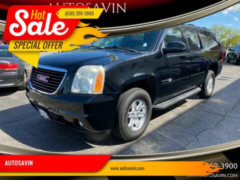 2012 GMC Yukon XL for sale at AUTOSAVIN in Elmhurst IL