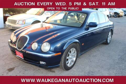 2002 Jaguar S-Type for sale at Waukegan Auto Auction in Waukegan IL
