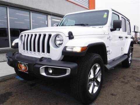 2020 Jeep Wrangler Unlimited for sale at Torgerson Auto Center in Bismarck ND
