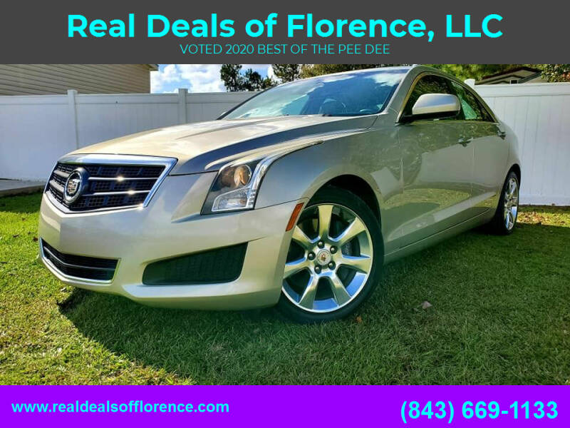 2014 Cadillac ATS for sale at Real Deals of Florence, LLC in Effingham SC