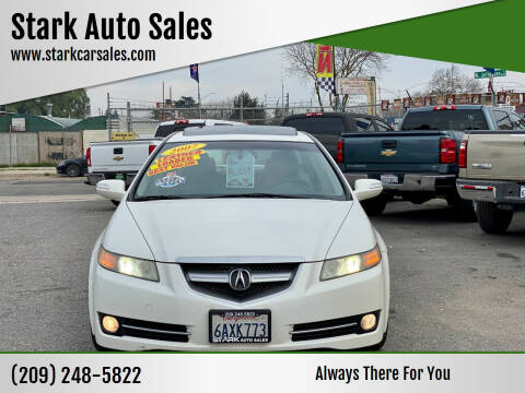 2007 Acura TL for sale at Stark Auto Sales in Modesto CA