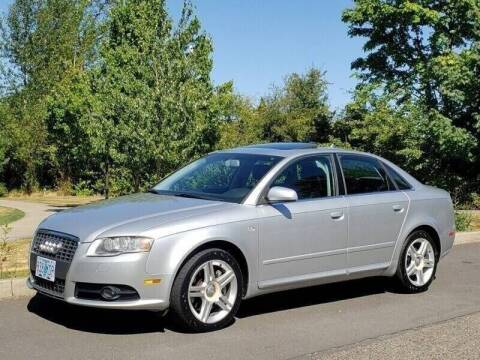 2008 Audi A4 for sale at CLEAR CHOICE AUTOMOTIVE in Milwaukie OR