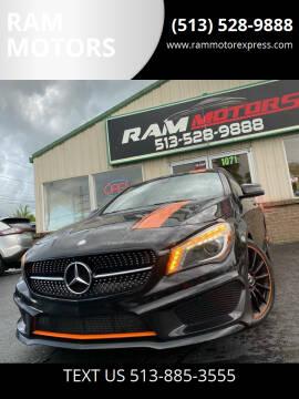 2016 Mercedes-Benz CLA for sale at RAM MOTORS in Cincinnati OH
