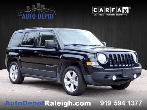 2013 Jeep Patriot for sale at The Auto Depot in Raleigh NC